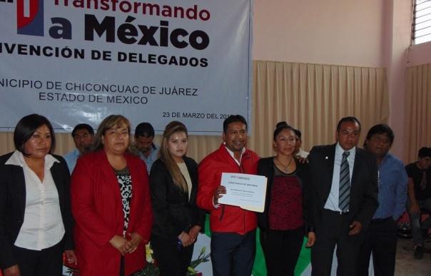 Respalda PRI precandidatura de Rigoberto Flores a la alcaldía de Chiconcuac_texcoco noticias-contrapapelmx